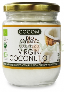 Olej kokosowy Virgin BIO 225ml Cocomi