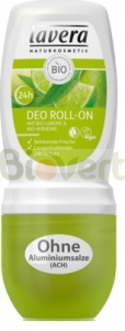 Dezodorant roll-on werbena-limonka BIO 50ml Lavera