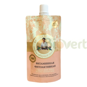 Witaminowa maska do twarzy 100ml Bania Agafi